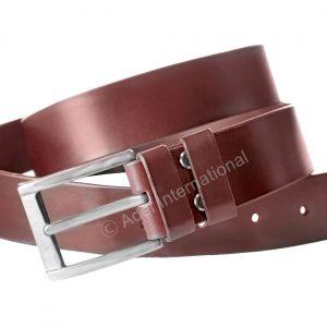 A766- Cowboy Leather Belt