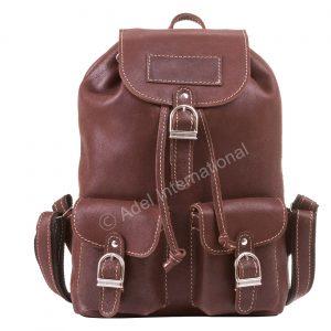 A561- Vintage Leather Multi use Backpack