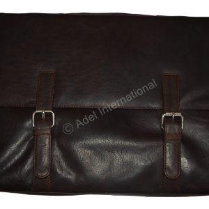 A562- Milled Leather Tablet/ Laptop Bag/ Document Bag