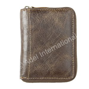 A39- Vertical Flap Wallet